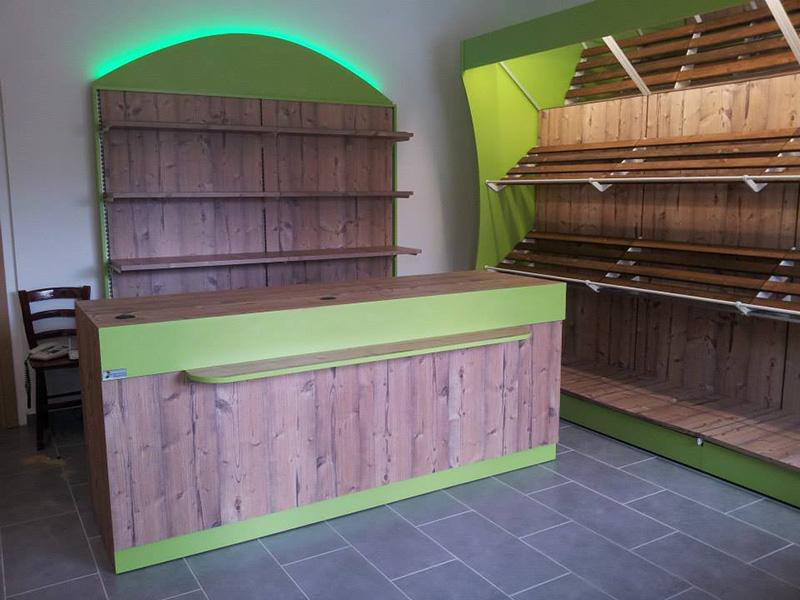 Frutta e Verdura Primizie - Mobili per negozi. Modul Group Arredamenti