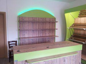 Frutta e verdura primizie mobili per negozi modul group for Arredamento ortofrutta in legno
