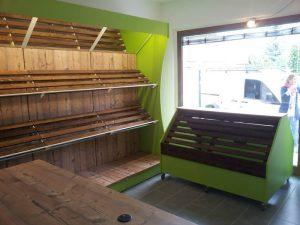 Frutta e verdura primizie mobili per negozi modul group for Idee per arredare un negozio di frutta e verdura