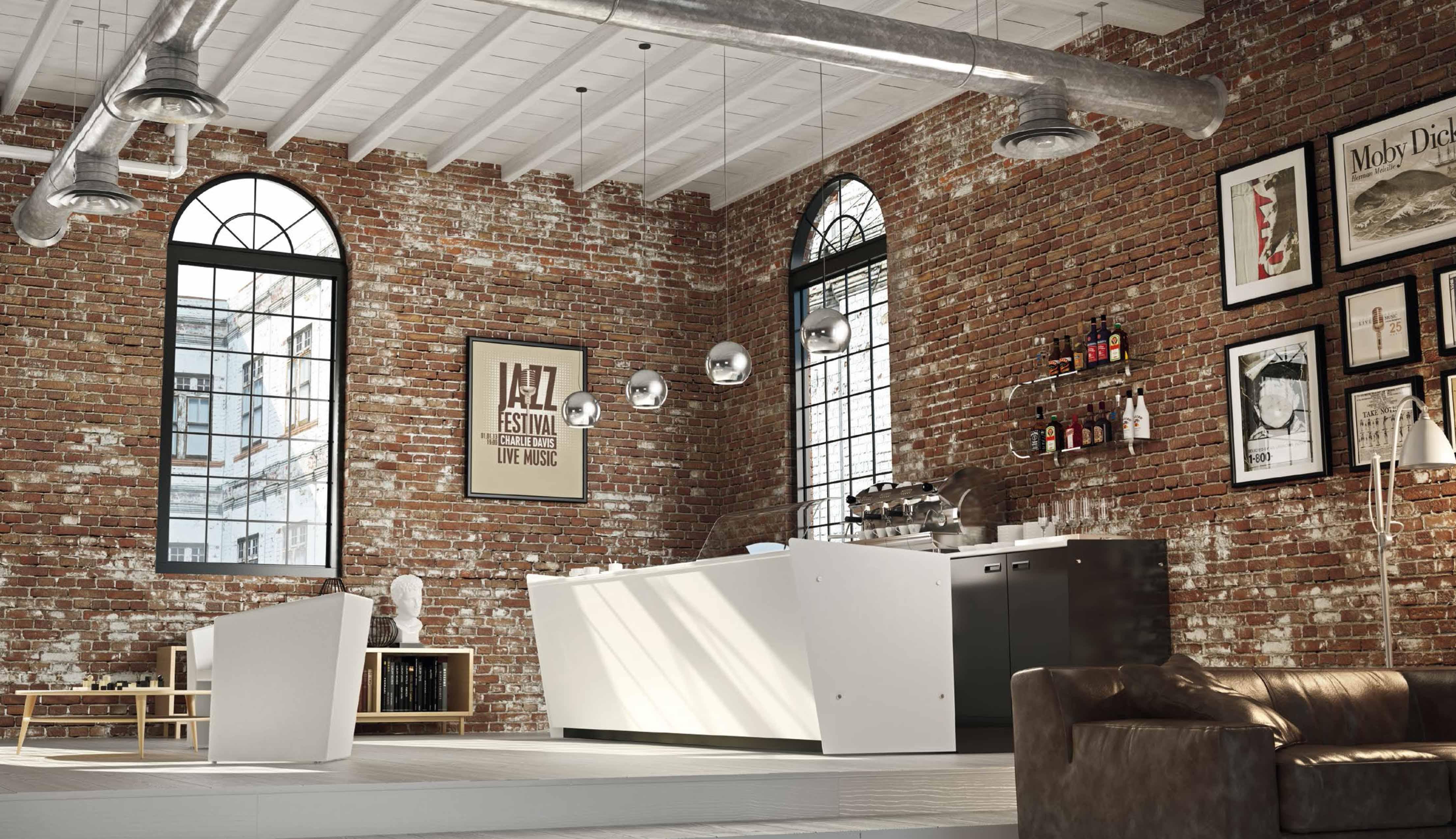 Banchi e banconi per bar mobili per negozi modul group for Banchi bar e arredamenti completi
